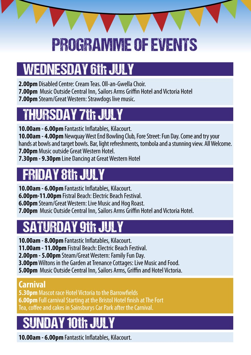 Newquay Lions - Carnival programme 2016-3