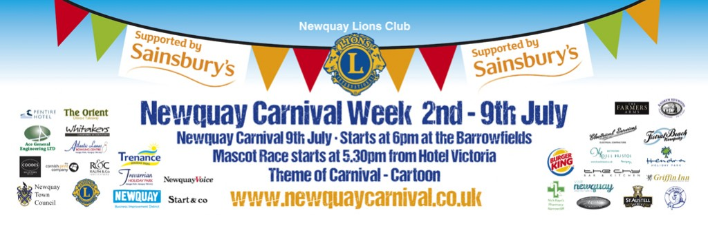 Newquay Lions Carnival 2016